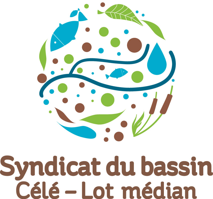 Logo du Syndicat Mixte Célé Lot-médian